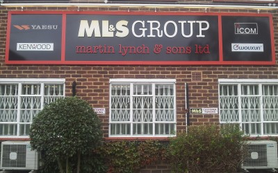 ML&S Group – composite aluminium panel sign