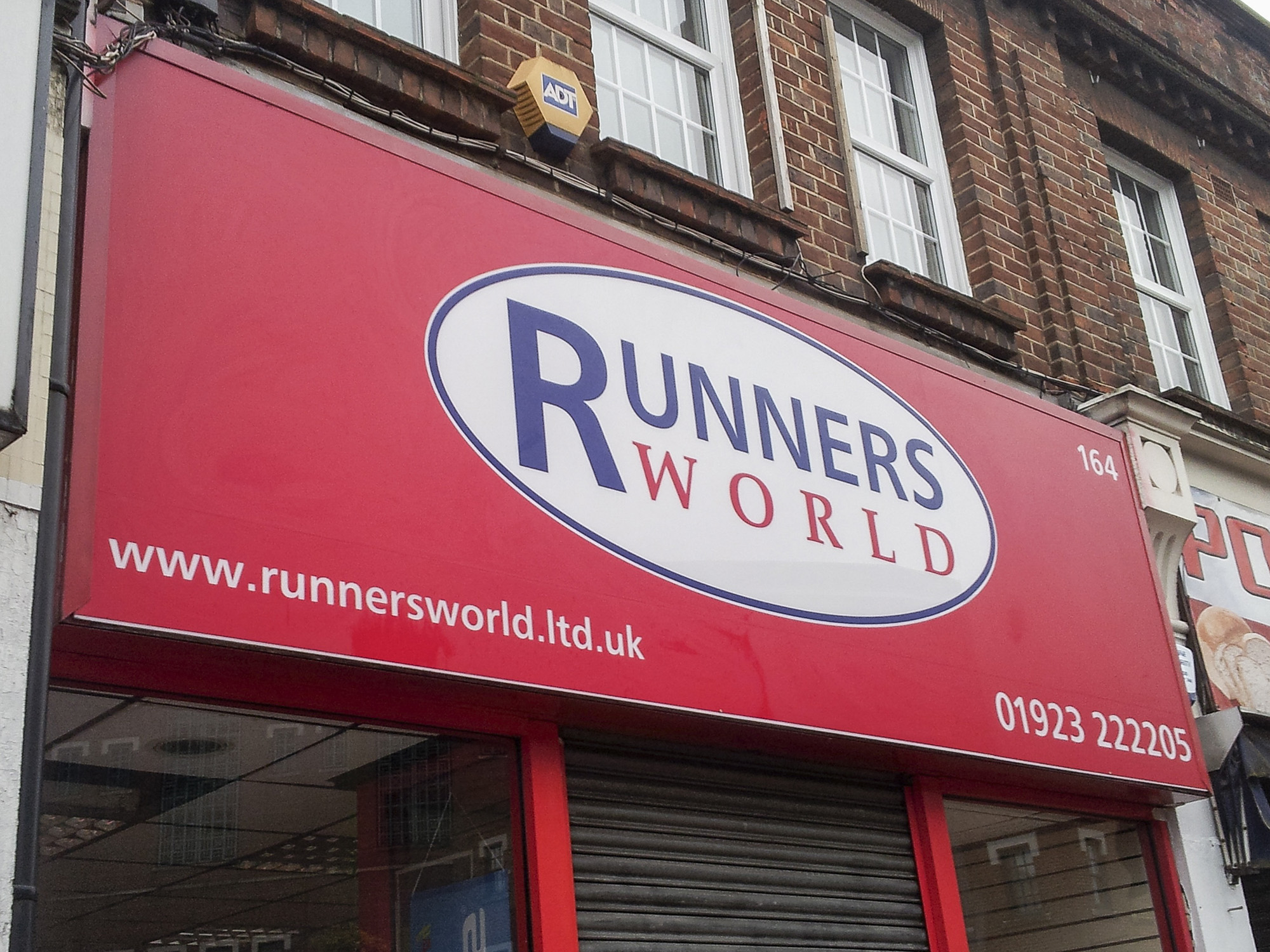 Runnersworld, Eastcote/Bearing Traders, Uxbridge
