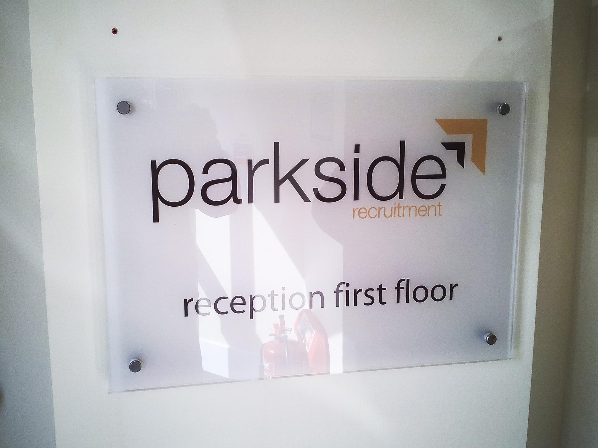 Parkside Uxbridge - Perspex panel