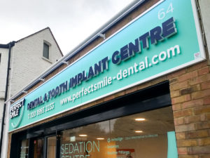 New signage for Perfect Smile branches