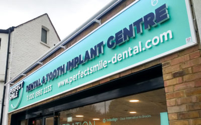 New signage for all Perfect Smile branches