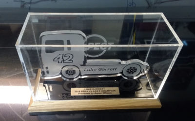 Trophy for the British Truck Racing Association